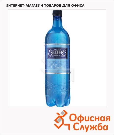 Вода минеральная Selters газ, 1л, ПЭТ