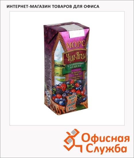 Морс Чудо-Ягода ягодный сбор, 0.25л х 6шт
