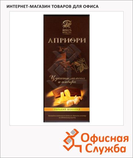 Шоколад Априори горький лимон с имбирем, 5гх20шт