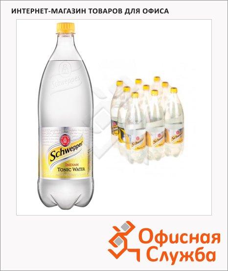 фото: Напиток газированный Schweppes Indian Tonic 1.5л x 9шт ПЭТ