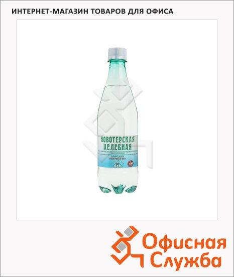 Вода минеральная Новотерская газ, ПЭТ, 0.5л