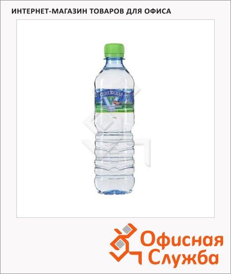 фото: Вода минеральная Сенежская без газа ПЭТ, 500мл
