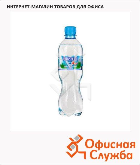 Вода минеральная Сенежская газ, ПЭТ, 0.5л