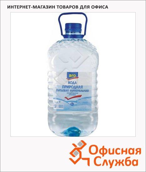 Вода питьевая Aro без газа, ПЭТ, 5л