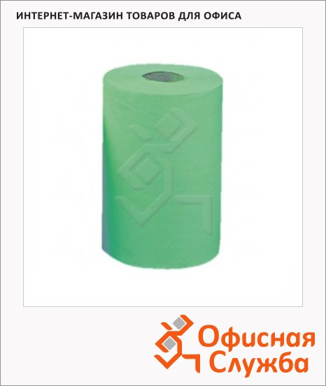 Бумажные полотенца Merida Classic Mini RKZ202, в рулоне с центр. вытяж., зеленые, 90м, 1 слой, 12 рулонов