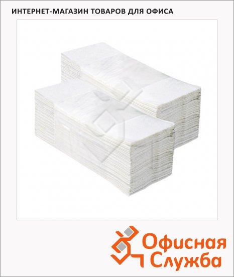 Бумажные полотенца Merida V-Top 4000 БП15, листовые, белые, 200шт, 2 слоя, 20 пачек