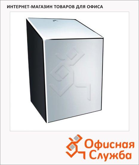 фото: Диспенсер для полотенец в рулонах Merida Stella Maxi CSP101 полированный металлик