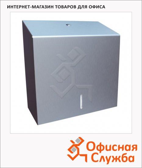 фото: Диспенсер для полотенец Merida Stella Maxi ASM101 матовый металлик