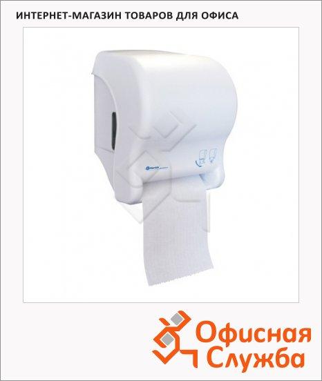 фото: Диспенсер для рулонных бумажных полотенец Top Maxi Automatic белый сенсорный, сенсорный