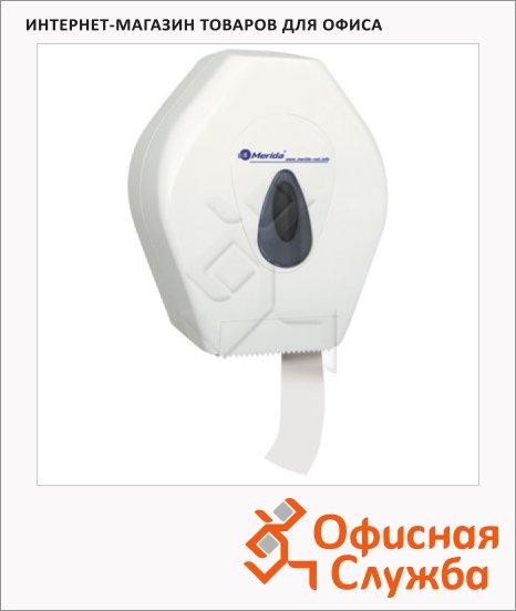 Диспенсер для туалетной бумаги в рулонах Merida Top Mini PT2TS, белый/серый