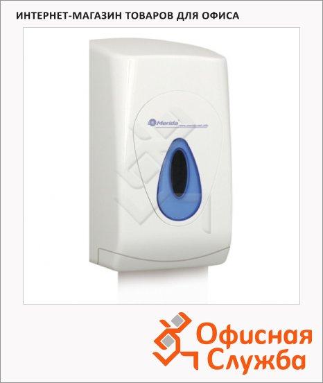 фото: Диспенсер для туалетной бумаги листовой Top PT3TN белый/синий