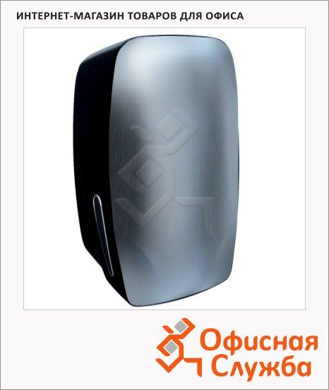 фото: Диспенсер для туалетной бумаги листовой Merida Mercury BMC401 черный