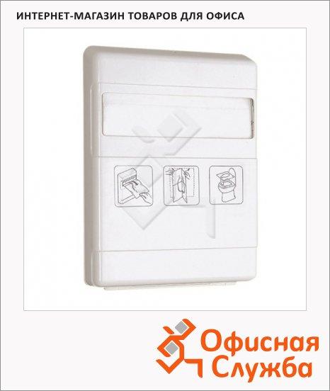 фото: Диспенсер для индивидуальных покрытий на унитаз Merida GP1 белый