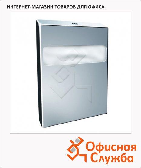Диспенсер для индивидуальных покрытий на унитаз Merida Stella GSP001, полированный металлик