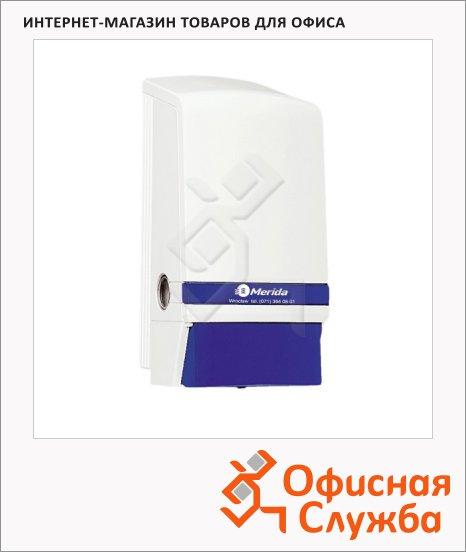 Диспенсер для мыла наливной Merida I D1N, 800мл, белы/синий