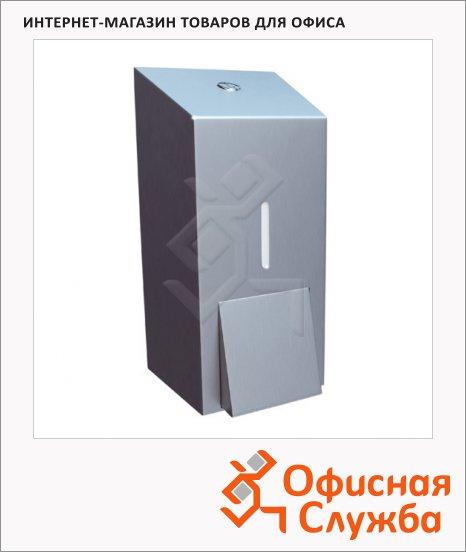 Диспенсер для мыла наливной Merida Stella Mini DSM102, матовый металлик, 400мл