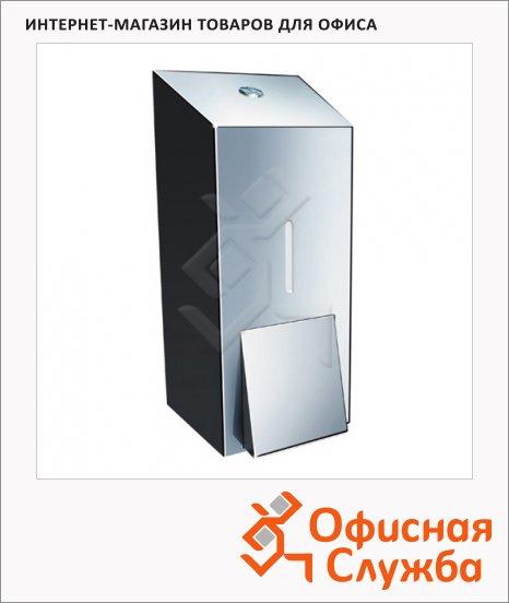 Диспенсер для мыла наливной Merida Stella Mini DSP102, металлик, 400мл