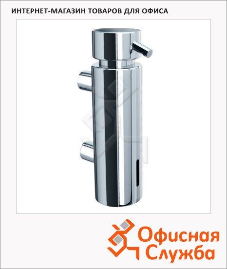 фото: Дозатор для мыла Merida Vip D45C с настенным креплением, хромированный, 300мл