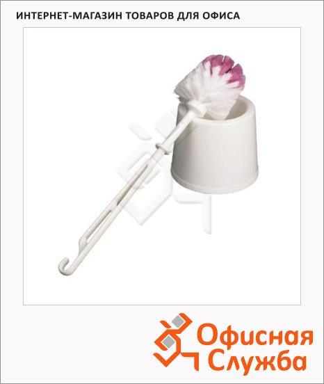 Ершик для унитаза Merida белый, d=14см, 38см