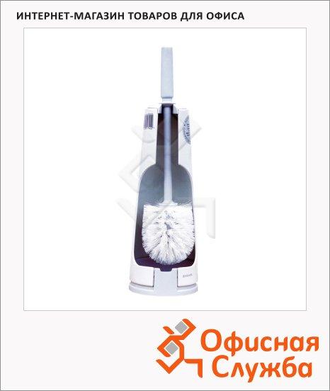 Ершик для унитаза Brabantia White эмалированный, с подставкой, SZ1B