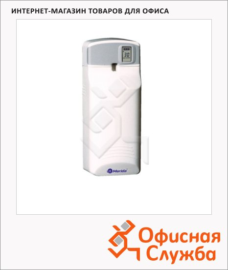 Диспенсер автоматический для освежителя воздуха Merida Select+ OE3, белый