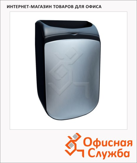 Контейнер для мусора подвесной Merida Mercury 25л, черный, KMC101