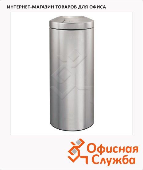 Урна-пепельница напольная Merida Brabantia 30л, металлик, с внутренним ведром, KMS20
