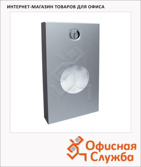 фото: Диспенсер для гигиенических пакетов Merida Stella GSM002 матовый металлик