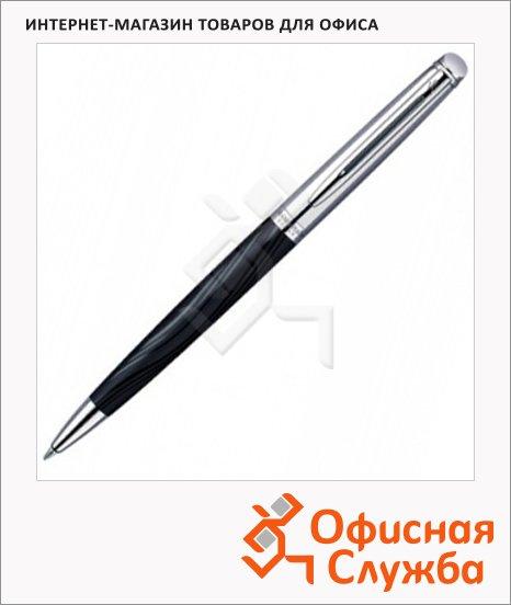 фото: Ручка шариковая Hemisphere Deluxe Black CT М черный корпус, S0921150