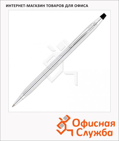 Ручка шариковая Cross Century Classic М, черная, хром корпус