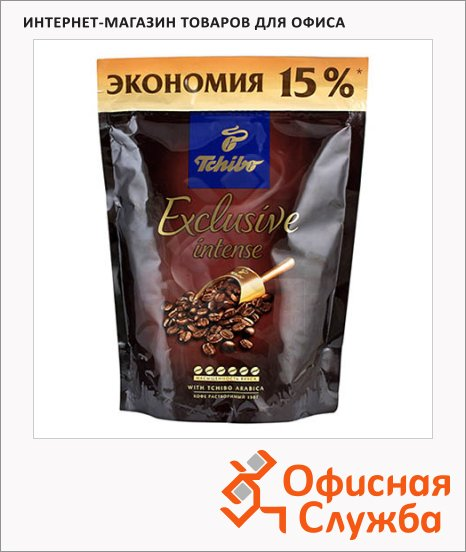 фото: Кофе растворимый Tchibo Exclusive Intense 150г пакет