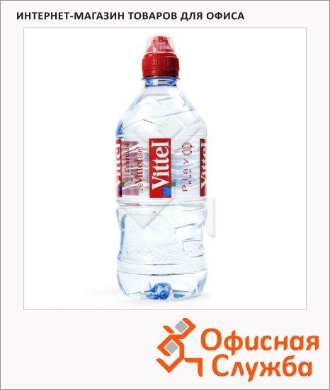 Вода минеральная Vittel Спорт без газа, ПЭТ, 0.75л