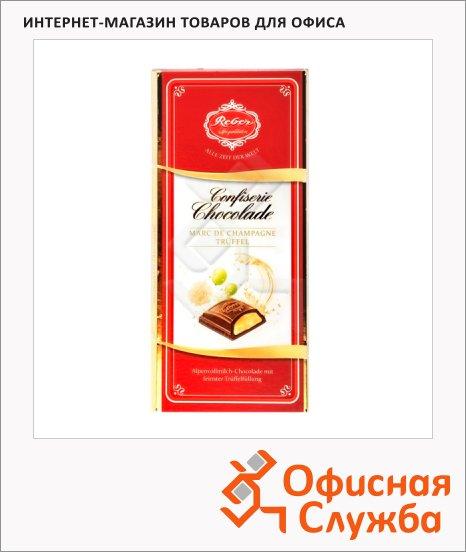 Шоколад Mozart Reber молочный, 100г, со вкусом трюфелей и шампанского