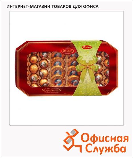 фото: Конфеты в коробках Mozart Mozarttaler и Mozartkugeln со светлым и темным пралине и марципаном 600г