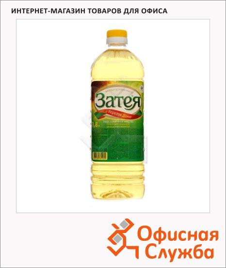 Масло растительное Затея рафинированное дезодорированное, 1.8л