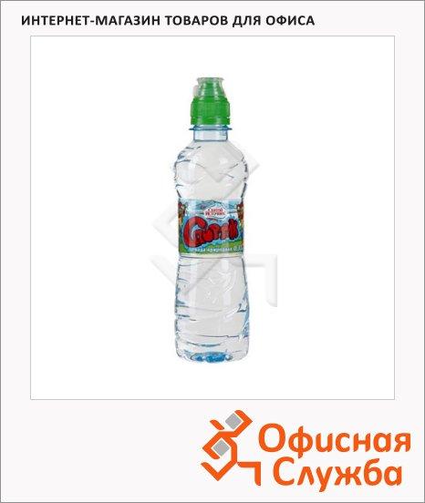 фото: Вода питьевая Святой Источник Спортик без газа 330мл, ПЭТ