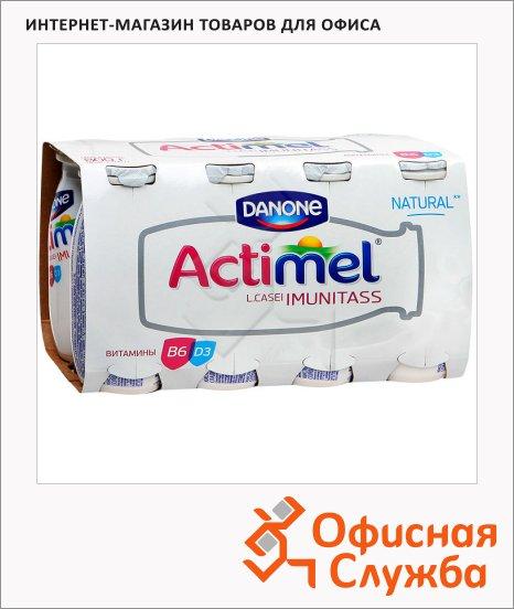 фото: Кисломолочный напиток Actimel натуральный 2.6% 100г х 8шт