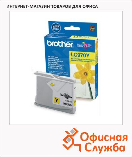 Картридж струйный Brother LC970Y, желтый