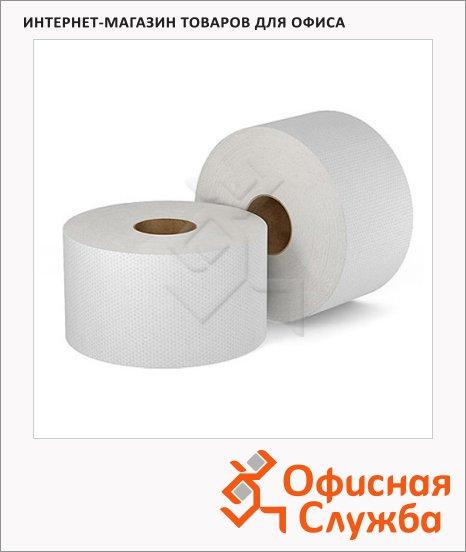 фото: Туалетная бумага в рулоне, ширина 10 см серая, 200м, 1 слой
