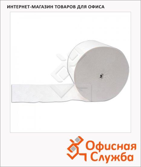 фото: Туалетная бумага в рулоне белая, 180м, 2 слоя