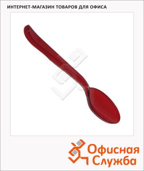 Ложка одноразовая столовая Мистерия Buffet красная, 18см, 10шт/уп