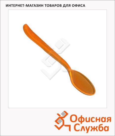 Ложка одноразовая столовая Мистерия Buffet оранжевая, 18см, 10шт/уп
