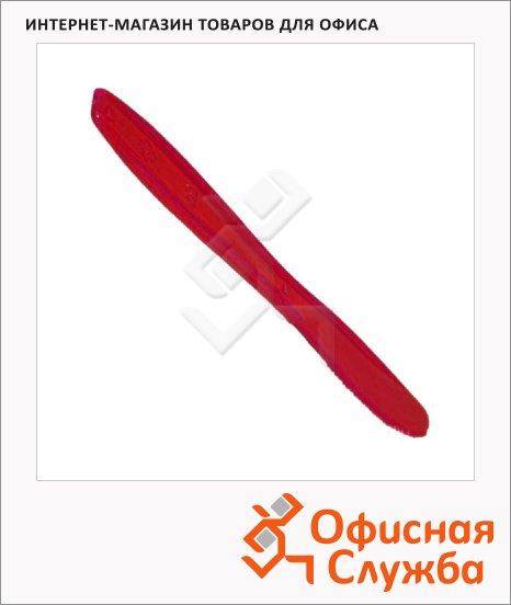 фото: Нож одноразовый Мистерия Buffet красный 18см, 10шт/уп