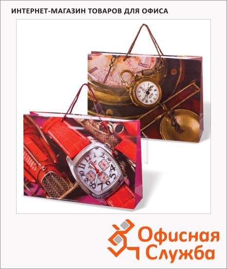 Пакет подарочный Grandgift книги 38х27х10см, ассорти, 7509