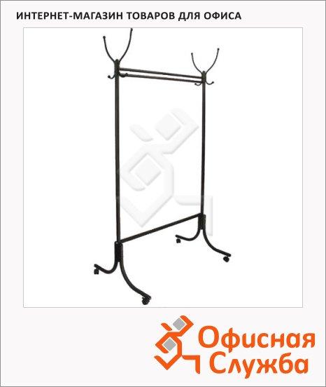 Вешалка-стойка напольная М-13 176 см, черная