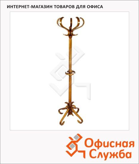 Вешалка-стойка напольная Васко В-10Н, 1820х600м, орех