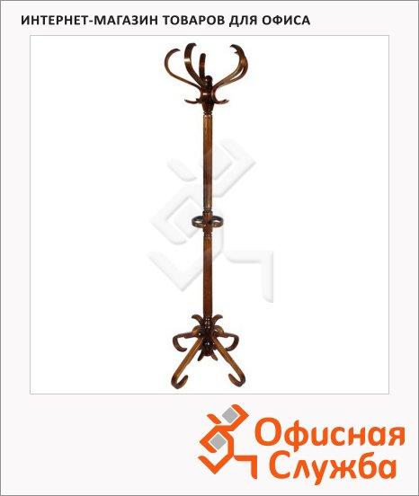 Вешалка-стойка напольная Васко В-10Н, 1820х600м, коричневая