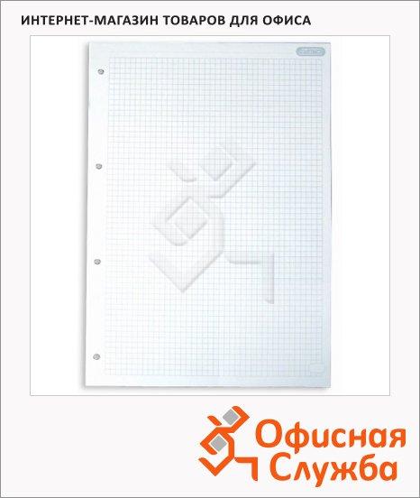 Сменный блок для тетради на кольцах Attache белый, А5, 80 листов, в клетку