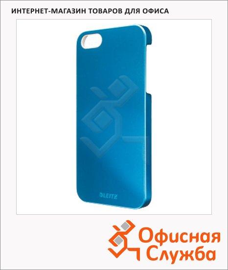 Чехол для Apple iPhone 5/5S Leitz Complete WOW голубой, пластиковый, 63720036