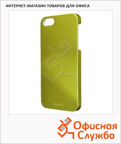 Чехол для Apple iPhone 5/5S Leitz Complete WOW зеленый, пластиковый, 63720064